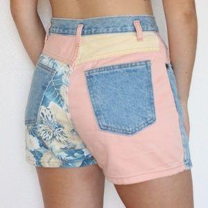 Vintage 80s Jean Shorts